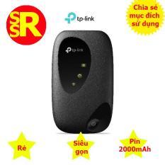 Cục phát Wifi di động chuẩn 4G TP-LINK M7200 màu Đen