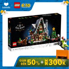 LEGO ICONS 10275 Ngôi Nhà Giáng Sinh Của Yêu Tinh (1197 chi tiết)