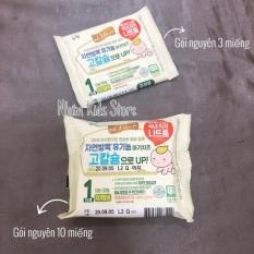 [CÓ ĐÁ KHÔ] Phô mai tách muối hữu cơ Hàn quốc cho bé từ 6 tháng(3 miếng nguyên)