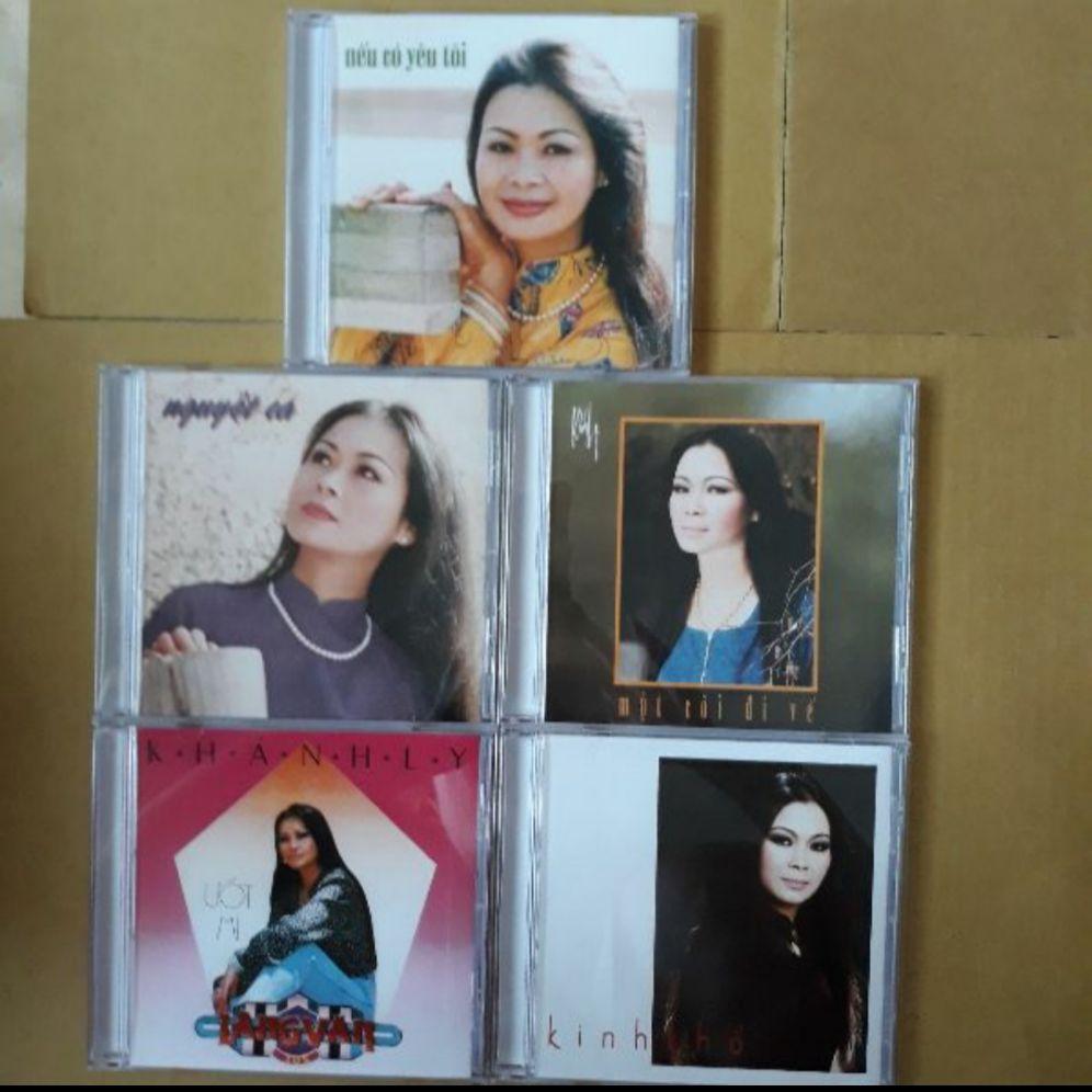 Bộ 5 cd Khánh Ly 2 Mitsu phono