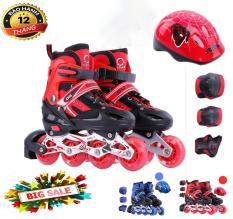 Giày trượt Patin trẻ em tặng mũ và đồ bảo hộ(5 đến 14 tuổi),, Chất Lượng Cao, Khuyến Mại 50% Cho Các Bé, Bảo Hành Và Phân Phối Toàn Quốc.