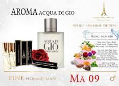 Tinh dầu nước hoa Pháp Aroma, dạng lăn mini 12ml cho các bạn giới trẻ, Mùi Hương Thơm Biển – Vietnamxuatkhau1989 –