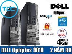 [Trả góp 0%]Case DELL Optiplex 7010/9010 (CORE i5 RAM 4Gb SSD 120GB ) TẶNG usb thu wifi. Dùng cho văn phòng học tập giải trí. Bảo hành 24t