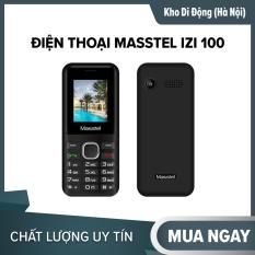 Điện thoại Masstel iZi 100 2 sim pin khỏe, BH 12 tháng