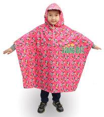 Áo mưa choàng trẻ em vải siêu nhẹ Hưng Việt cao cấp