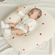 Gối chống trào ngược cho bé mẫu mới cao cấp Rototo bebe chất liệu Cotton lụa vô cùng mềm mại