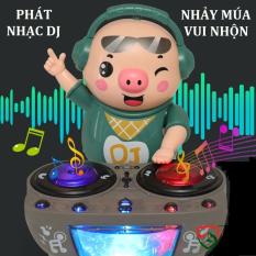 Đồ chơi trẻ em heo phát nhạc DJ năng động dễ thương , nhún nhảy vui nhộn theo nhạc và đèn cho bé – Đồ khuyến mãi giá tốt