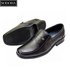 Giày Tây Da Bò Cao Cấp SODOHA SDH9339B Màu Đen