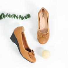 Giày Búp Bê Đế Xuồng 3cm Da Thật Êm Chân Pixie X461