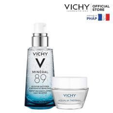Tinh chất khoáng cô đặc Vichy Mineral 89 50ml tặng Aqualia gel 15ml
