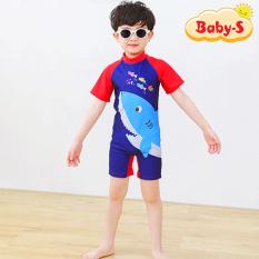 Đồ bơi liền thân cho bé trai và bé gái 5-10 tuổi họa tiết hoạt hình đáng yêu nhiều màu sắc Baby-S – SDB013