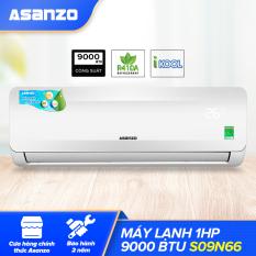 Máy Lạnh Asanzo S09N66 1HP Free Lắp Đặt HCM (Vỏ Dàn Nóng Chống Gỉ Khử Độc Không Khí Màn Hình LED) – Hàng Phân Phối Chính Hãng Bảo Hành 2 Năm