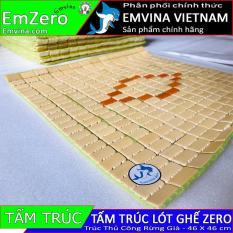 Tấm trúc thủ công rừng già EMVINA ZERO đệm trúc lót ghế game văn phòng Emvina Zero Zero S Zero V1 Zero V2 Zero Plus Kimxoa Zero) full size