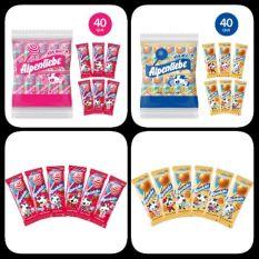 Kẹo mút Alpenliebe® Hương Dâu Kem & Caramen – Caramen