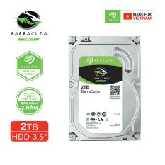 Ổ cứng HDD 3.5″ PC SEAGATE BarraCuda 2TB SATA 7200RPM 256MB – ST2000DM008