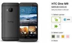 Điện thoại HTC ONE M9 ( Bản QUỐC TẾ ) Ram 3G.32G – Hàng Nhập Khẩu 100% . FULLBOX