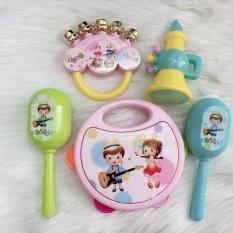 Lục lạc 5 món đồ chơi cho bé