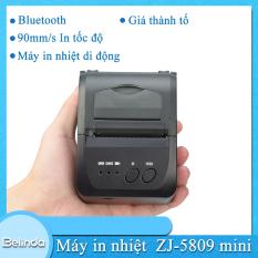 Máy in Nhiệt Zjiang 5809 POS Máy in hoá đơn Bill Nhiệt hóa đơn như biên lai thanh toán