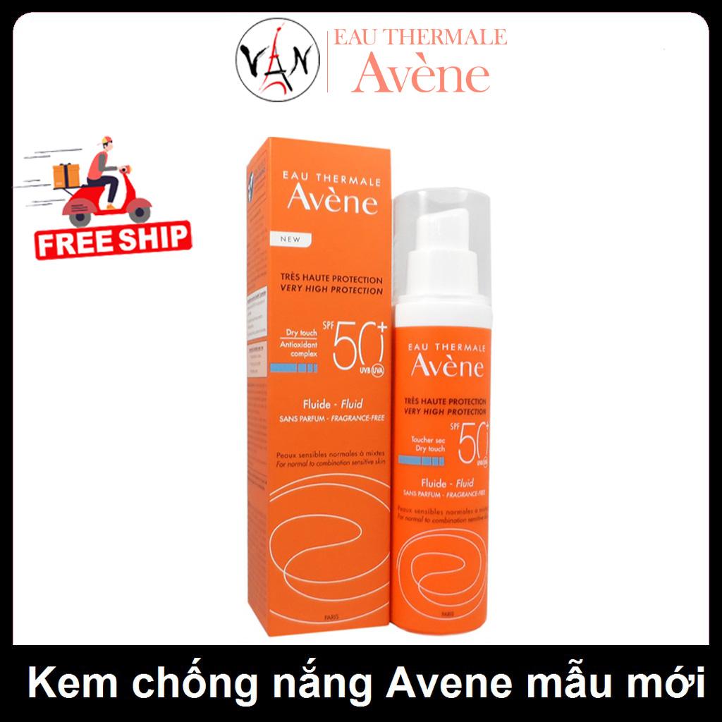 Avene kem chống nắng Avene spf 50+ mẫu mới