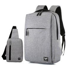 Combo Balo Laptop Thời Trang Công Sở Hàn Quốc LAZA BL416 và Túi Đeo Chéo TX361