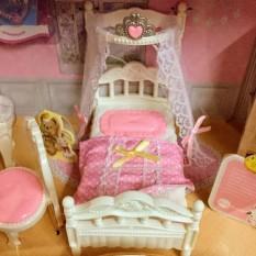 Đồ chơi phòng ngủ nhà thỏ siêu dễ thương Yasini BingXueMeiQi 6610