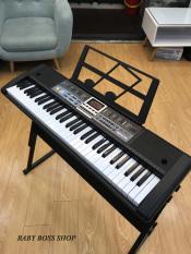 Đàn piano điện tử cho người mới học đàn Đàn organ điện tử 61 phím kèm giá đỡ đàn