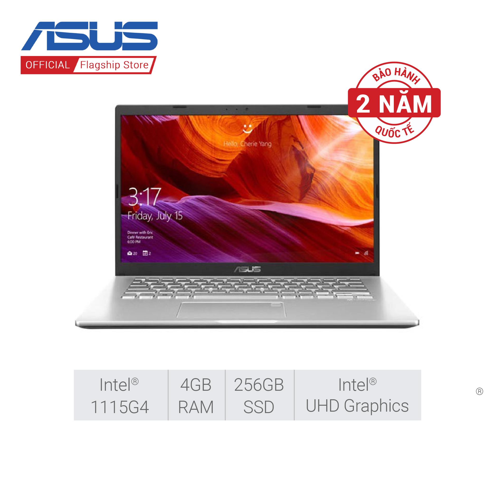 Laptop ASUS X415EA-EK047T i3-1115G4 | 4GB | 256GB SSD | Intel UHD | 14.0-inch FHD | Win 10 | Bạc