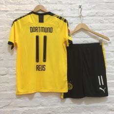 Bộ quần áo bóng đá Marco Reus- Dortmund vàng 2020