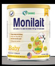 Sữa Monilait Baby 850g – dành cho bé 0 – 12 tháng tuổi