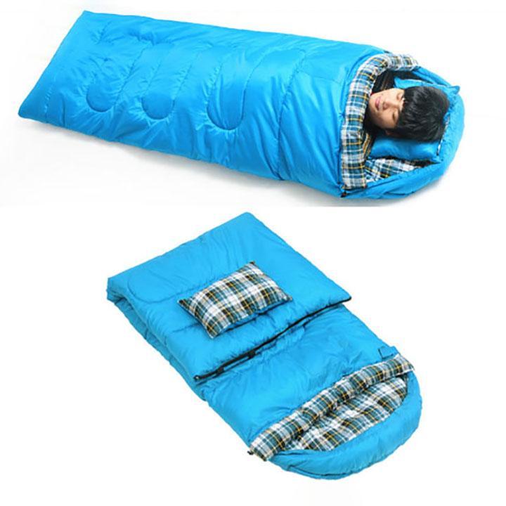 Túi Ngủ Văn Phòng, Túi Đi Phượt, Chất Liệu Cotton Dày Dặn, Ấm Áp
