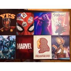 Poster Marvel hình dán tường