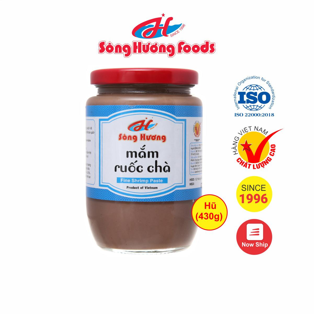 Mắm Ruốc Chà Sông Hương Foods Hũ 430g