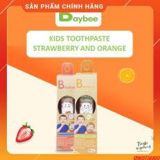 Kem Đánh Răng + Tặng bàn chải đánh răng Baybee Organic 40gr Nuốt Được Cho Bé Từ 1 Tuổi