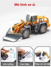 Xe đồ chơi (xe mô hình) xe ủi có thể tháo rời các chi tiết cho bé chất liệu nhựa ABS chắc chắn an toàn, tỉ lệ lớn