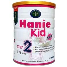 Combo 3 lon Hanie Kid 2 900g