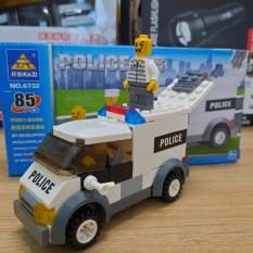 Đồ chơi lego lắp ghép mô hình ô tô cảnh sát gồm 69 chi tiết mô hình bằng nhựa ABS cao cấp cho bé từ 4 tuổi trở lên phát triển trí tuệ và sáng tạo