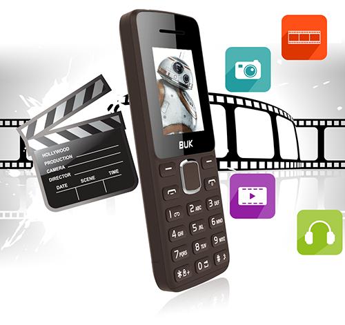 ĐIỆN THOẠI DI ĐỘNG FPT BUK B120, 2 sim , màn hình 1.8 inch , dung lượng pin 800mAh, dễ sử dụng