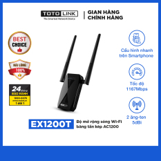 EX1200T – Bộ mở rộng sóng Wi-Fi băng tần kép AC1200