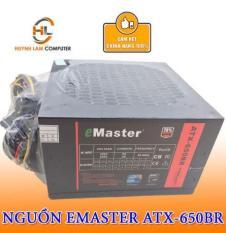 Nguồn máy Vi Tính Emaster Atx 650BR Hằng Thịnh Phân Phối