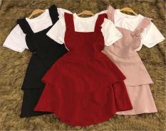 Set đầmv yếm, áo thun cotton 4 chiều từ 9kg đến 42kg