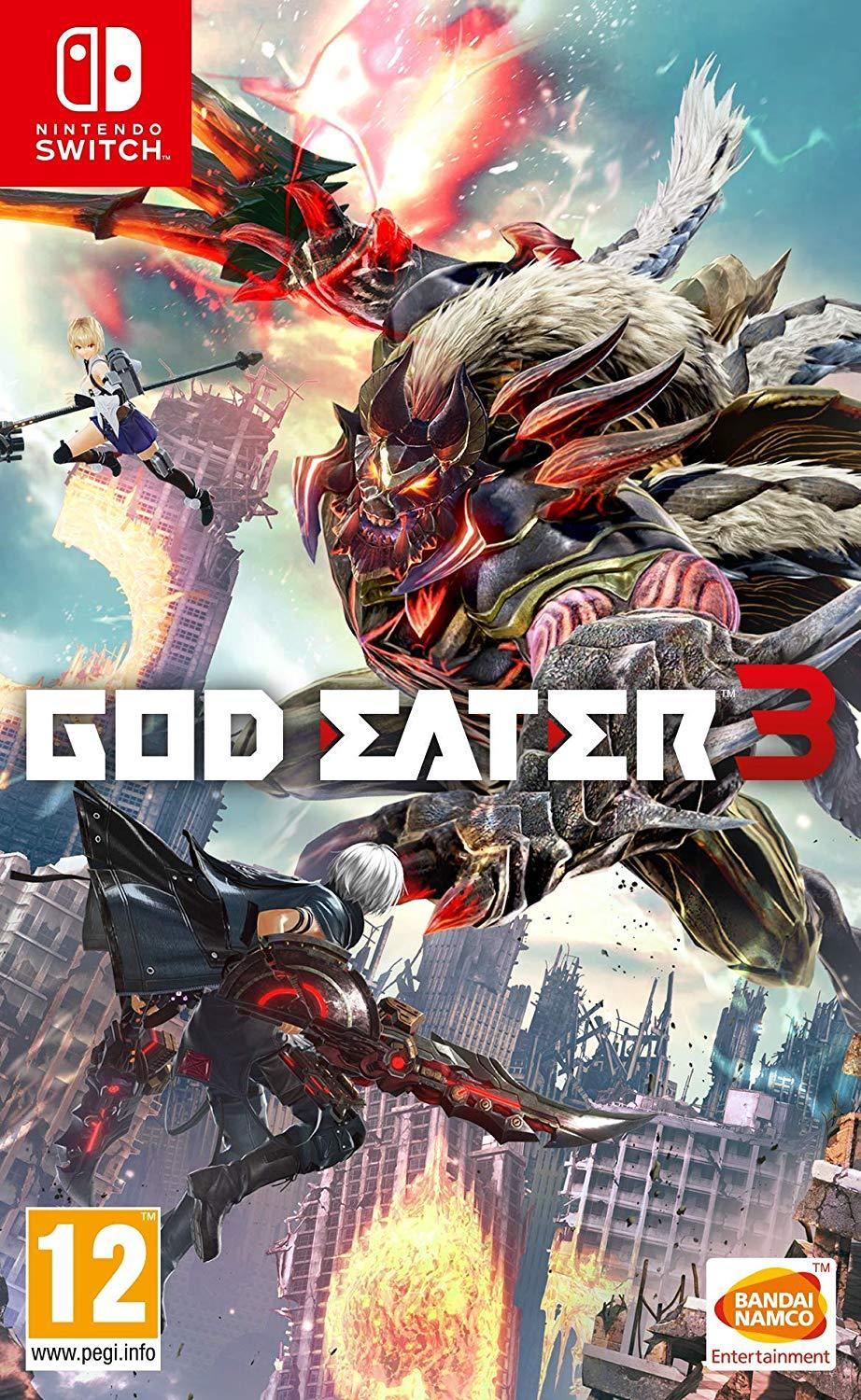 Đĩa game Nintendo Switch : God Eater 3