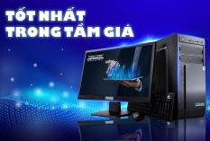 Máy Tính Để Bàn Xử Lý Tốc Độ Cao E350 – Thánh Gióng – Core i3 – RAM 4GB – Màn hình 19.5 inch LED – Bảo hành 24 tháng