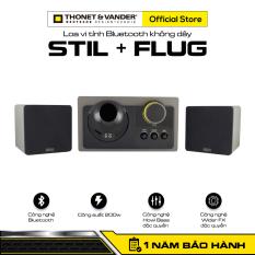 [HÀNG CHÍNH HÃNG ĐỨC] Loa vi tính Bluetooth không dây THONET & VANDER STIL + FLUG | Công nghệ Bluetooth | Công suất 200w | Công nghệ Howl Bass độc quyền | Hệ thống Bass Reflex | Bảo hành chính hãng