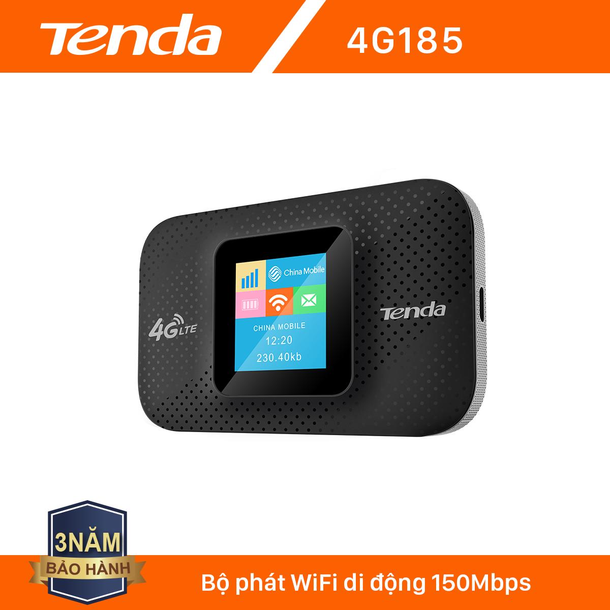 Tenda Bộ phát Wifi di động 4G LTE 4G185 – Hãng phân phối chính thức