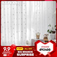 Napearl Rèm cửa in họa tiết bông hoa nhỏ thanh lịch thích hợp trang trí phòng khách – INTL
