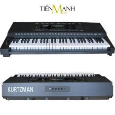 Đàn Organ Kurtzman K250 (Đã cài sẵn Sample – Bàn Phím cảm ứng lực, Có Pitch Bend – KZM Touch Response Keyboard – Bộ Đàn, Nguồn)