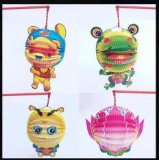 Đèn lồng bằng giấy đẹp đồ chơi trẻ em nhiều mẫu giá rẻ