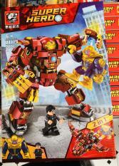Mẫu Lắp Ráp Lego Marvel Super Hero Hulkbuster (422 chi tiết)