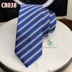 Cavat nam mẫu 6cm cao cấp cà vạt chú rể Giangpkc cr038