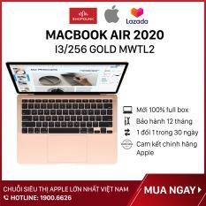 Laptop Macbook Air 13 inch 2020 core i3 8GB/256GB, Hàng chính hãng Apple, Hàng mới 100%, Nguyên seal, Bảo hành 12 tháng – Shopdunk